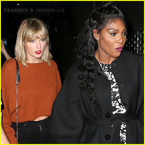 Taylor Swift Continues Girls' Night Out with Serena Williams!