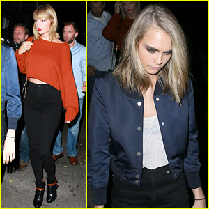 Taylor Swift & Cara Delevingne Hang Out Again in the Big Apple!