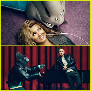 Tori Kelly & Taron Egerton Hang With 'Sing!' Characters in Brand New Pics