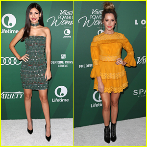 Victoria Justice Honors 'Rocky Horror' Co-Star Laverne Cox at Variety's Power of Women Luncheon 2016