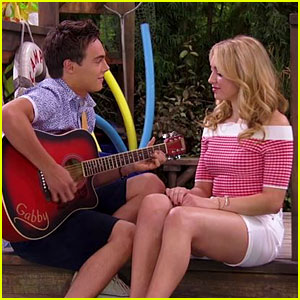 EXCLUSIVE: Kevin Quinn Serenades Peyton List in 'Bunk'd's First-Ever Full-Length Music Video! - Watch Now