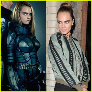 Cara Delevingne Suits Up in New 'Valerian' Promo Pics!
