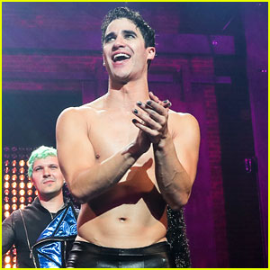 Darren Criss Goes Shirtless for 'Hedwig' Opening Night in Hollywood!