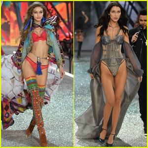 Gigi & Bella Hadid Bring Some Sister Power to the Victoria's Secret Runway
