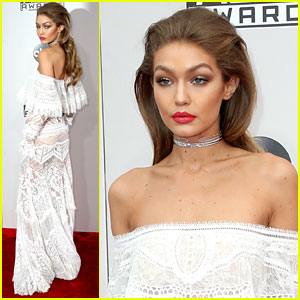 Gigi Hadid Looks So Chic for AMAs 2016 Hosting Gig!