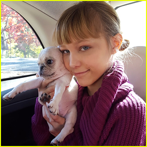 AGT Winner Grace Vanderwaal Gets the Cutest Puppy Ever!