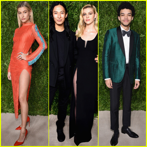 Nicola Peltz & Hailey Baldwin Step Out at at CFDA/Vogue Fashion Fund Awards 2016