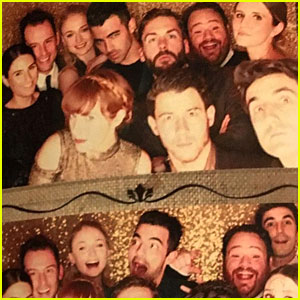 Joe Jonas & Sophie Turner Attend Friend's Wedding in Malibu!