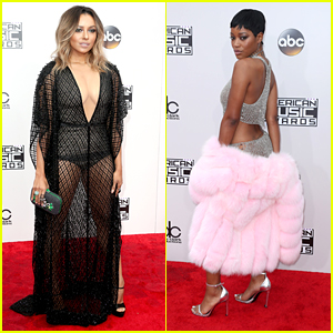 Vampire Diaries' Kat Graham Rocks Sheer Look For AMAs 2016