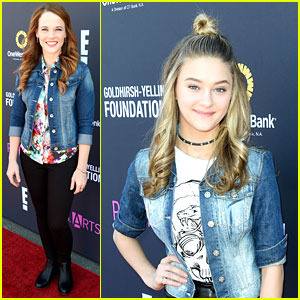 Katie Leclerc, Lizzy Greene, & More Attend P.S. ARTS' Express Yourself 2016!