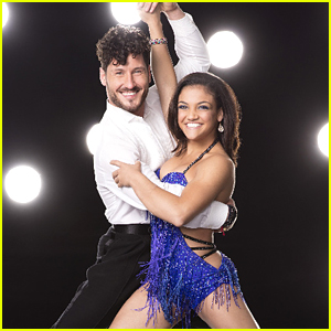 VIDEO: Laurie Hernandez & Val Chmerkovskiy Foxtrot on DWTS Season 23 Week 10