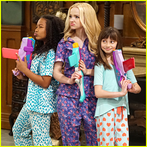 Dove Cameron Has Slumber Party on Set in 'Liv & Maddie: Cali Style'!