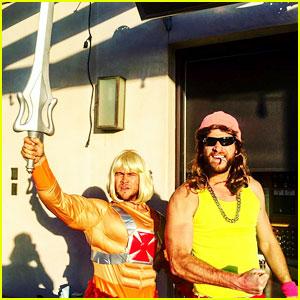Miley Cyrus & Liam Hemsworth Couple Up for Luke Hemsworth's 1980s Birthday Party!