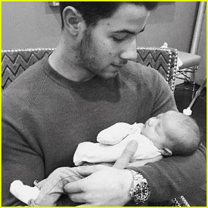 Nick Jonas Shares First Photo with Niece Valentina!