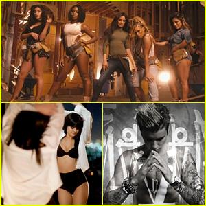 Fifth Harmony, Selena Gomez & Justin Bieber Dominate Pandora's Top Thumb Hundred List
