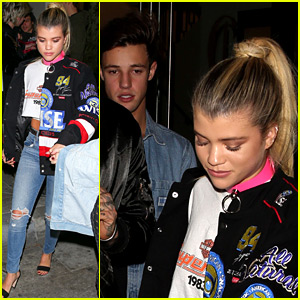 Sofia Richie Hangs Out with Cameron Dallas & BFF Nicola Peltz