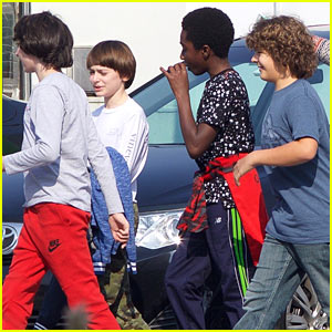 Millie Bobby Brown & 'Stranger Things' Cast Begin Filming for Season Two!