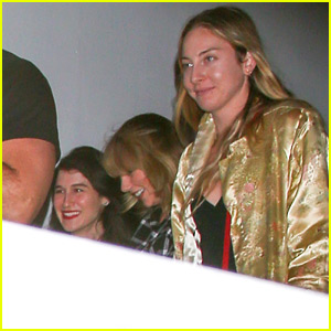 Taylor Swift Watches Kristen Stewart's New Movie with Her Gal Pals!
