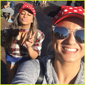 Tori Kelly & Fifth Harmony's Ally Brooke Hit Up Disneyland Together!