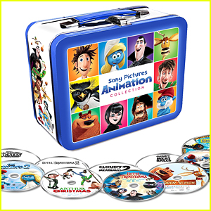 Win 10 Sony Animated Movies On DVD Right Now!