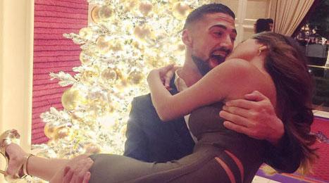 Becky G S Best Christmas Present Was Boyfriend Sebastian