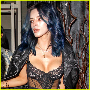 Bella Thorne Has a New Hair Color for the New Year: Blue!