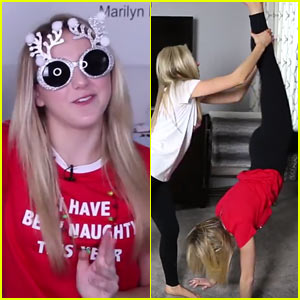 VIDEO: Chloe Lukasiak Hilariously Tries (& Fails) to Do the Yoga Challenge!