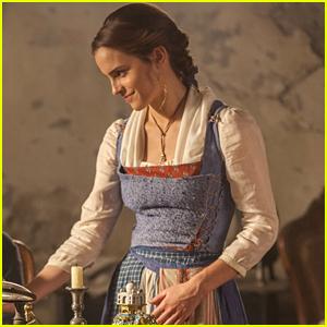 Fans Find Emma Watson S Beauty The Beast Belle Doll In A Wedding Dress Beauty And The Beast Emma Watson Movies Just Jared Jr
