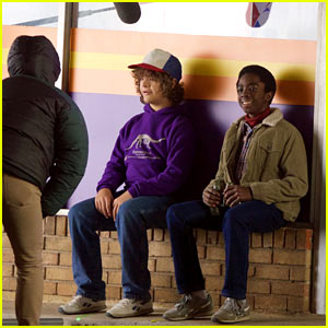 Stranger Things' Finn Wolfhard, Gaten Matarazzo, & Caleb McLaughlin Shoot More New Scenes!