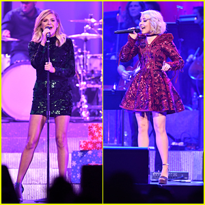 Country Cuties RaeLynn & Kelsea Ballerini Sparkle Up a Snow Storm in Nashville