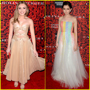 Peyton List & Emily Robinson Are Serving Fierce Fashion in NY!