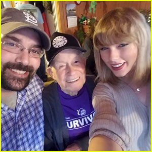 Taylor Swift Meets 96-Year-Old Fan, Grandson Says 'It's a Christmas Miracle!'