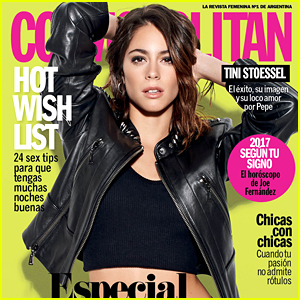 Martina Stoessel Shares First 'Cosmo Argentina' Cover!