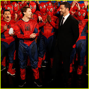 VIDEO: Tom Holland Dresses Up With Fans for Premiere of 'Spider-Man: Homecoming' Trailer!