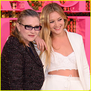 Billie Lourd Shares Sweet Throwback Photo with Late Mom Carrie Fisher
