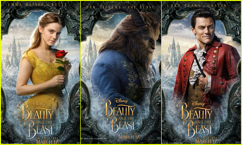 Emma Watson Channels Belle in New 'Beauty & the Beast' Characters Posters!
