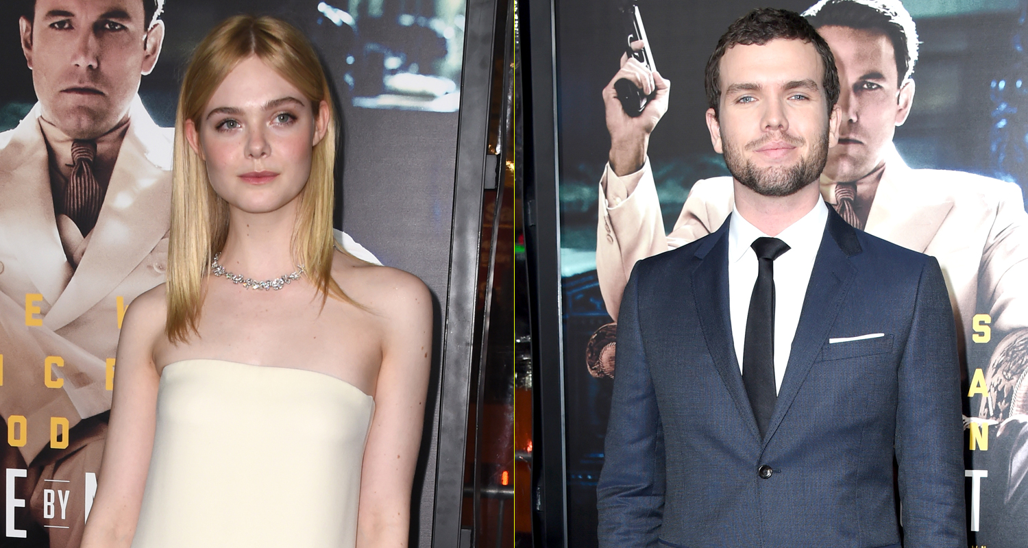 Elle Fanning & Austin Swift Step Out at 'Live by Night ...