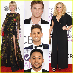 Chelsea Kane, Jean-Luc Bilodeau & 'Baby Daddy' Cast Arrive For People's Choice Awards 2017!