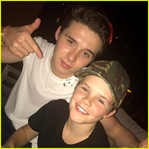 VIDEO: Cruz Beckham Performs at His Family's NYE Party!