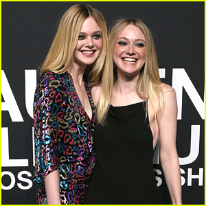 Sisters Dakota & Elle Fanning Don't Think They Look Anything Alike
