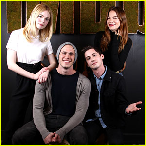 Elle Fanning & Logan Lerman Take 'Sidney Hall' to Sundance!