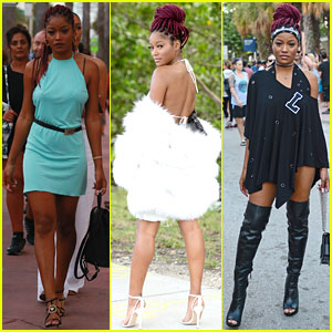 Keke Palmer Shows Off Amazing Style For New Year Celebrations