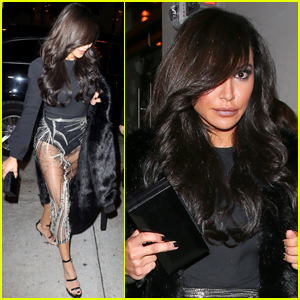 Naya Rivera Steps Out For Early Birthday Celebrations
