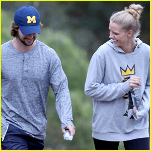Patrick Schwarzenegger & Abby Champion Go on Hike After Romantic Vacay