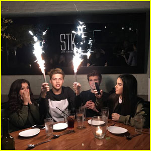 Exclusive: Ricky Garcia�s Co-Stars Treat Him to Surprise 18th Birthday Dinner - Pics Inside!