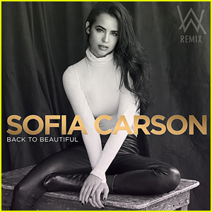 Sofia Carson's New Single 'Back To Beautiful' Will Be Out This Friday!