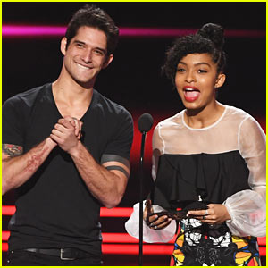 Tyler Posey Makes First Public Appearance at the PCAs Since Leaked Video Scandal