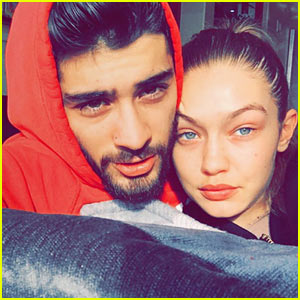 Gigi Hadid's Snapchat Story Features Lots of Cuddle Time With Zayn Malik