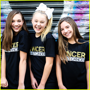 Maddie & Mackenzie Ziegler Promote 'Dancer Against Cancer' Tee in New Campaign