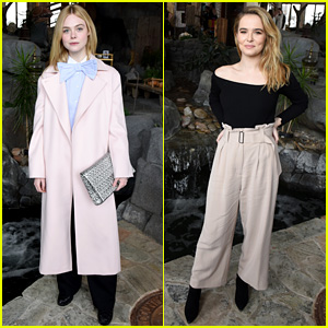 Elle Fanning Wore a Giant Bow-Tie at Sundance!